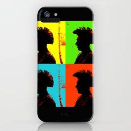 Popart punk iPhone Case
