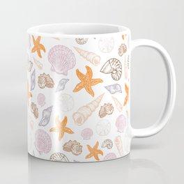 Seashell Print Coffee Mug