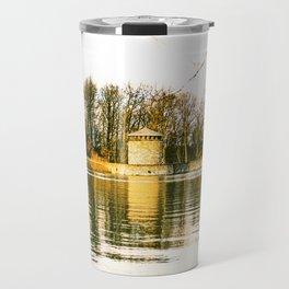 Möhne Reservoir Lake Tower bright Travel Mug