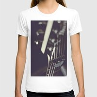 guitar T-shirts featuring guitar by monicamarcov