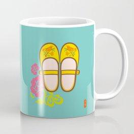 Chinese Antique - shoes Coffee Mug