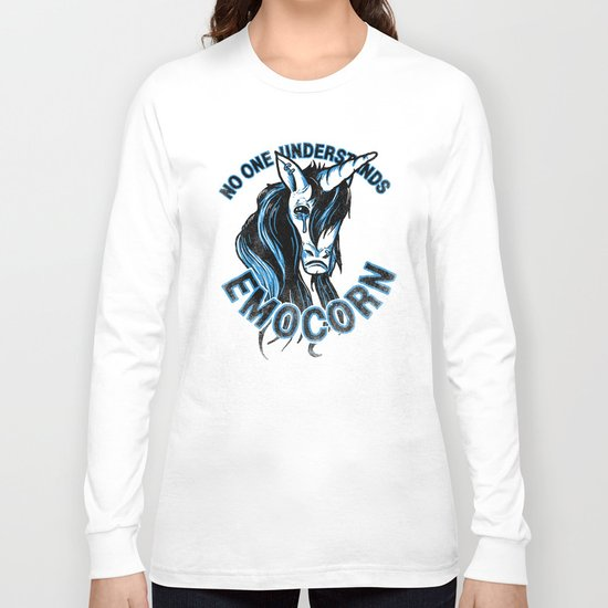 Nobody Understands Emocorn Long Sleeve T-shirt