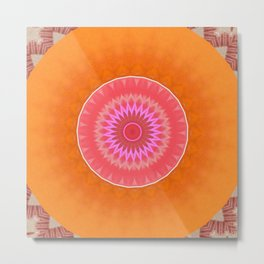 Some Other Mandala 166 Metal Print