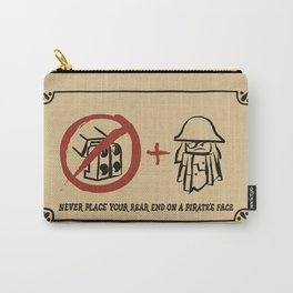 Metal Beard's Rule 1 Carry-All Pouch