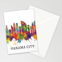 Panama City Panama Skyline Stationery Cards