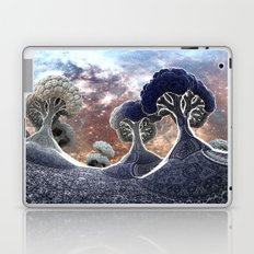 Broccoli Planet in Winter Laptop & iPad Skin