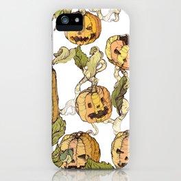 pumpkin soap iPhone Case