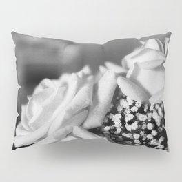 White Roses Pillow Sham