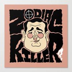 Zodiac Ted Canvas Print