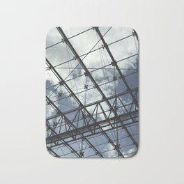 Glass Ceiling II (Portrait) - Architectural Photography Bath Mat