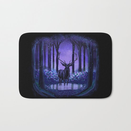 Elf Forest Bath Mat