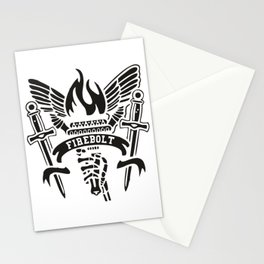 Fire Bolt Stationery Cards