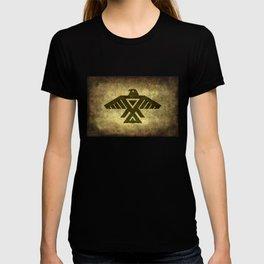 Symbol of the Anishinaabe, Ojibwe (Chippewa) on  parchment T-shirt