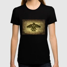 Symbol of the Anishinaabe, Ojibwe (Chippewa) on  parchment T-shirt