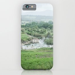 Hotsprings in Tuscany, Italy  iPhone Case