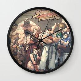 Street Fighter Wall Clock