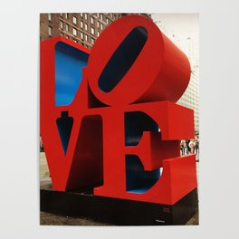 Love Sculpture - NYC Poster