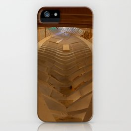 The boat's skeleton iPhone Case