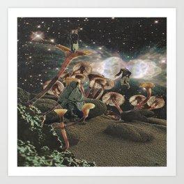 astral trip Art Print