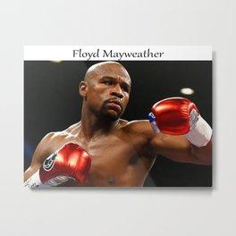 Floyd Mayweather Calendar 2021, UFC Poster Foto Art Decor Handmade Metal Print