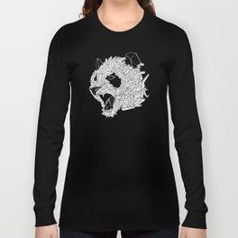 Geometric Panda Long Sleeve T-shirt