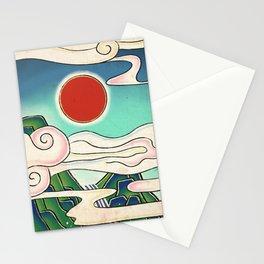 Minhwa: Sunrise Stationery Cards