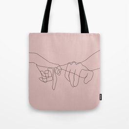 Blush Pinky Tote Bag