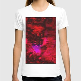 Ruby Red Abstract w/Shining Light T-shirt