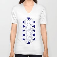 shell V-neck T-shirts featuring shell by pam beach
