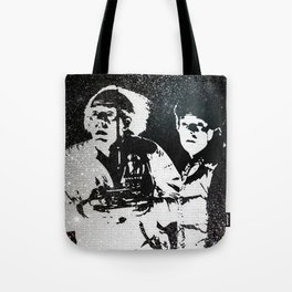 Roads? Where we're going, we don't need roads Tote Bag