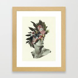 Fully Charged Framed Art Print
