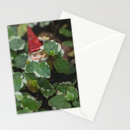 Peek-a-boo Gnome Stationery Cards
