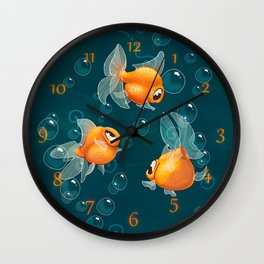 Goldfishs Wall Clock
