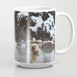 Bath Time in the Hot Springs Coffee Mug