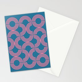Deco Geometric 01B Stationery Cards