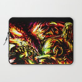 Metroid Metal: Ridley- Through the Fire.. Laptop Sleeve