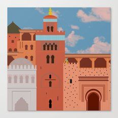Moroccan Arch Canvas Print