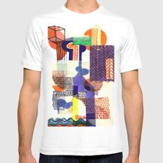 Collage II Mens Fitted Tee White MEDIUM