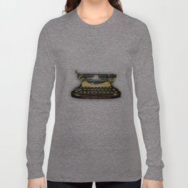 corona vintage typewriter Long Sleeve T-shirt