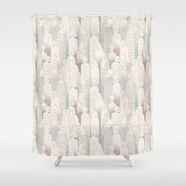 Before the Show Shower Curtain