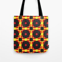 chad wys Tote Bags featuring Anne-Lise in Chad by Marielle Loussot