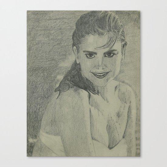 Kathy Ireland Canvas Print