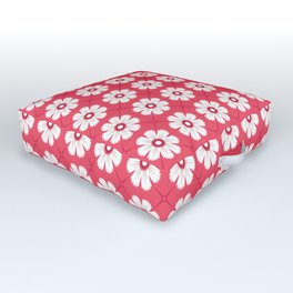 Sun and petals Outdoor Floor Cushion