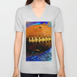 Football ball vs 2 Unisex V-Neck