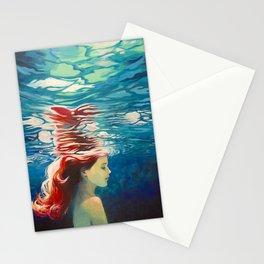 Underwater Ariel Stationery Cards