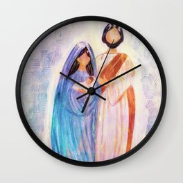 Merry Christmas 2 Wall Clock