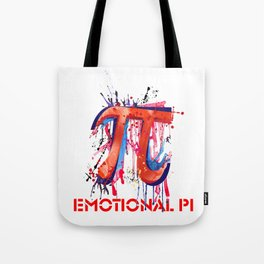 Emotional Pi Tote Bag