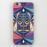 totem iPhone & iPod Skins featuring Totem by Naia Ceschin