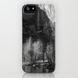 Tree Reflection and Falls iPhone Case