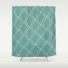 green flacon Shower Curtain